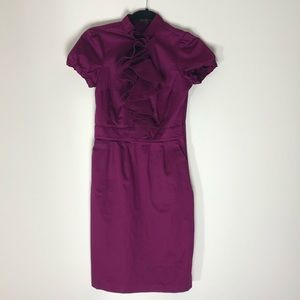 The Limited purple office dress.